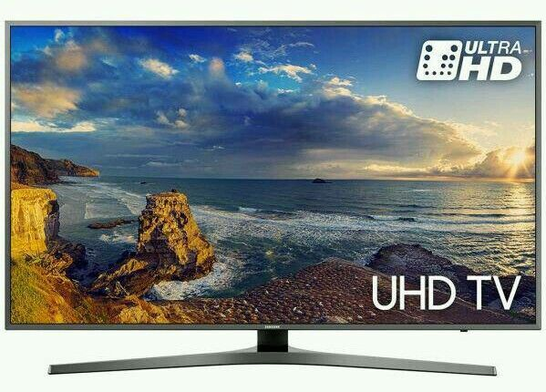 "Samsung 60"" LED smart 4K UHD HDR WI-FI HD FREEVIEW ."
