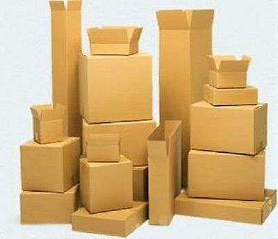5x5x5 Shipping Moving Packing Boxes 25 Ct