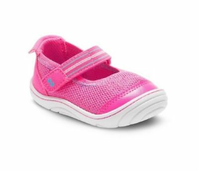 Surprize by Stride Rite Baby Toddler Girl Petula Mary Jane Sneakers Pink Size 4
