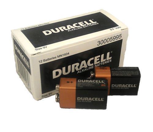 Duracell 9v Battery Ebay