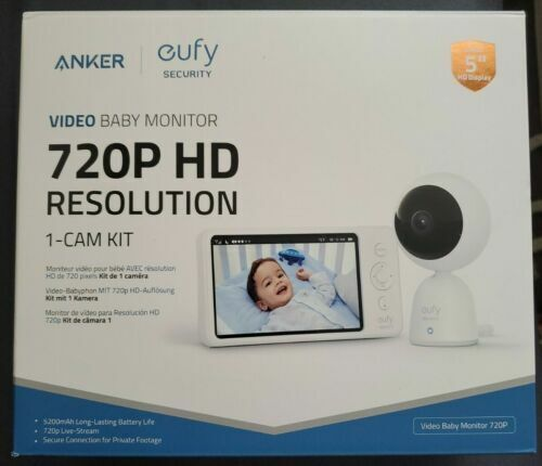 Anker Eufy Security Video Baby Monitor 720p With Camera And Audio
