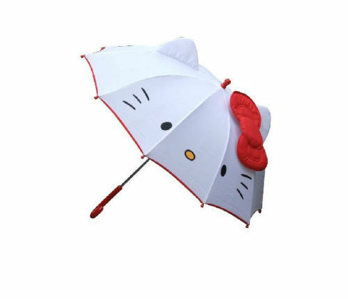 Disney Nickelodeon Hello Kitty and other cute Handle Umbrella For Kids you pick