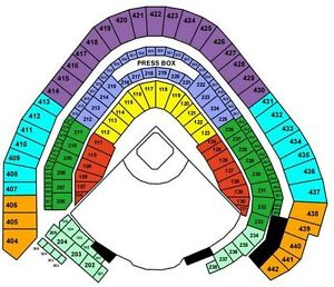 2 Brewers vs. Cubs 4/27 section 102 row 10 tickets!