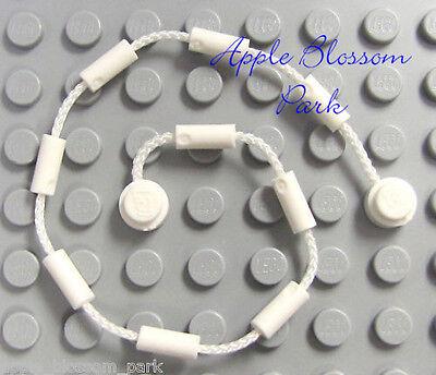 (NEW Lego Minifig WHITE CLIMBING ROPE VINE Web String-Poison Ivy Batman Spiderman)