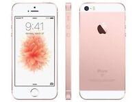 NEW I PHONE 6 SE LATEST MODEL!!!! 64GB ROSE GOLD!!!!