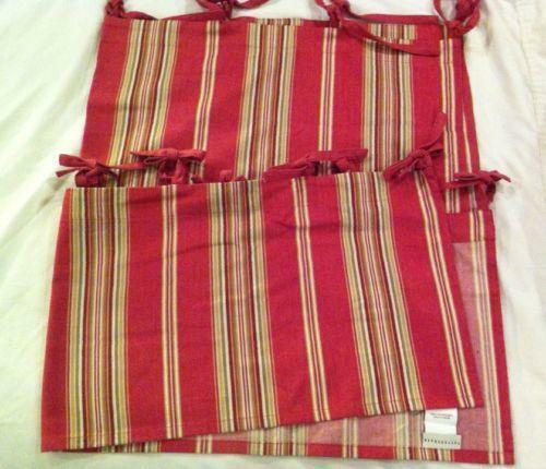 Pottery Barn Stripe Curtain Ebay