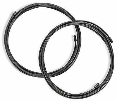 BeMaxx Cables de Repuesto para Comba Speed Rope 300cm – 3,4mm |...