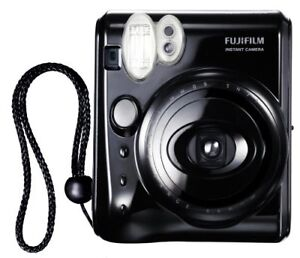 Instax Fujifilm Mini 50S, Piano Black, Black Case