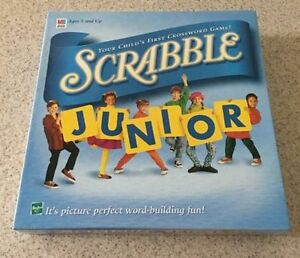 Scrabble Junior Board Game for Children - by Hasbro - Kids 1999