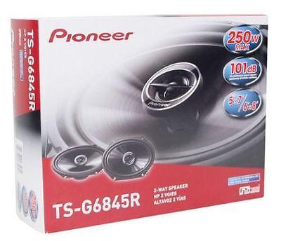 "Pioneer TS-G6845R 250W 6 x 8"" 2-Way G-Series Coaxial Car Speakers TSG6845R"