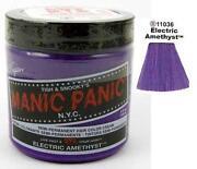 Electric Blue Hair Dye