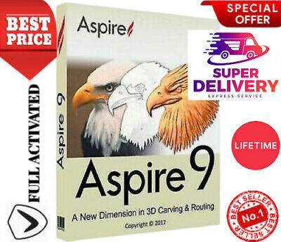 Vectric Aspire 9.514 Clip Art LATEST+FAST DELIVERY+LIFETIME+EASY INSTALLATION