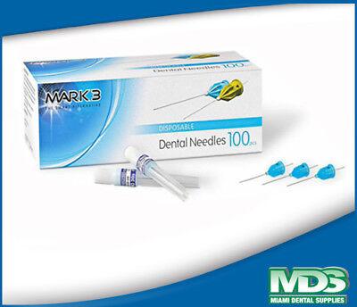 Disposable Dental Needle 30 Gauge Short 0.3 X 25mm Box Of 100