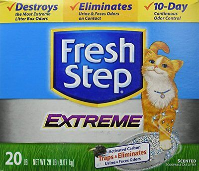 Fresh Step Litter Scoop (FRESH STEP CAT LITTER 261347 Fresh Step Extreme Odor Solution Scoop Litter Boxes )