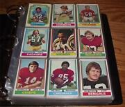 1974 Topps Football Set