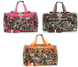 664c4cce3444 Pink Camo Duffle Bag