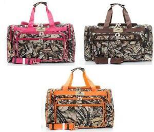 55185b8756 Pink Camo Duffle Bag