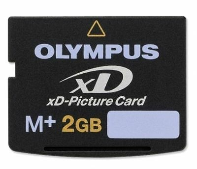 2GB Olympus XD Picture Memory Card Type M+ M-XD2GMP For FUJIFILM OLYMPUS Camera 2 Gb Picture Card