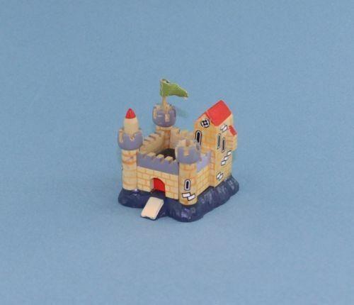 Cute 1:12 Scale Dollhouse Miniature Wooden Toy Castle #WCTA216
