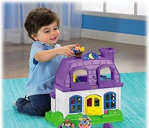Qty 2 x Fisher Price Little People Happy Sounds Folding House London Ontario image 2
