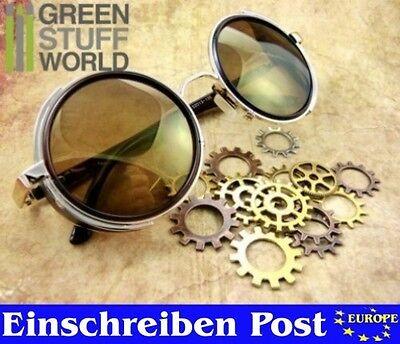 Retro Sonnenbrillen-Steampunk - GOLD Metallrahmen - Viktorianischen Stil
