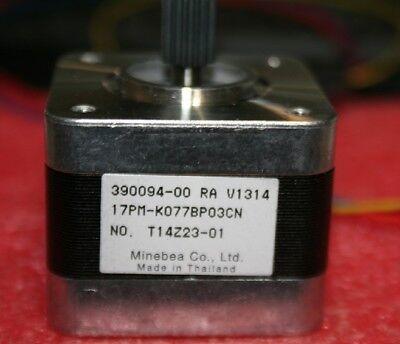 5 Pcs Minebea Hybrid Stepper Motor 17pm-k077bp03cn T14z23-01 Free Us Shipping