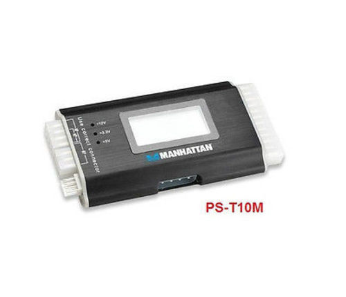 Digital Power Supply Tester w/ LCD Display (4P, 6P, 8P, 24P, SATA) PS-T10M