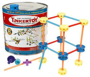 TinkerToy 200pc Construction Set