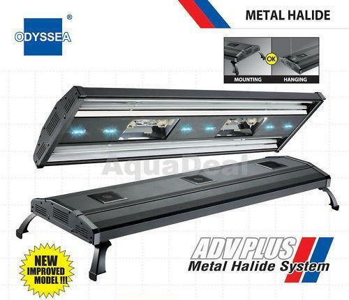 Mh 48 Metal Halide T5 Aquarium Light 716w Coral Reef: 48 Metal Halide: Lighting & Bulbs