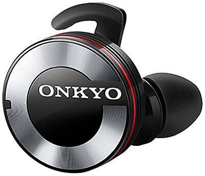 ONKYO Bluetooth Wireless Earphone W800BTB Black Japan Model New