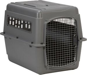 Medium sized travel crate for dogs
