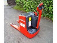 Linde T18 electric power pallet truck / forklift