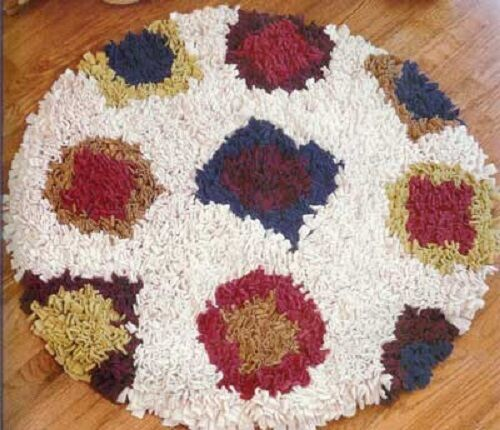 FABULOUS RUGS MADE EASY leisure arts, latch hook rugs LA3696 see pics - NEW