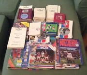 1950s Football Programmes