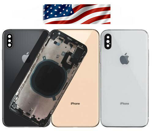 Back Glass Full Assembly Rear Housing For iPhone XS and MAX / XR/ IPHONE 8+