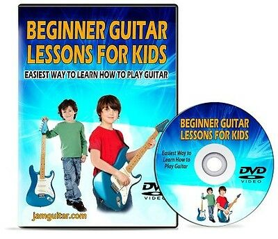 Beginner Guitar Lessons for Kids - Easiest Way to Learn How to Play Gutiar - DVD on Rummage