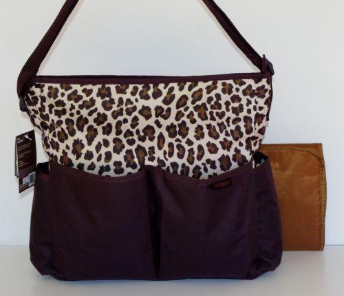 Leopard Print Diaper Bag | eBay