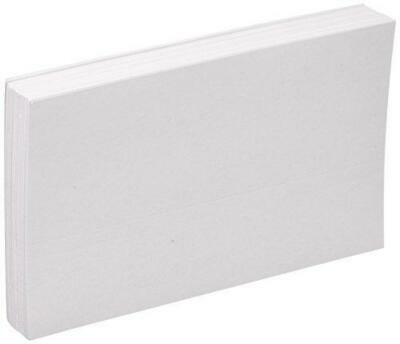Oxford Blank Index Cards 5 X 8 White 100pack 50