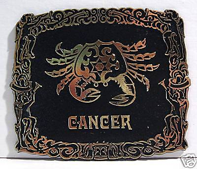 (Cancer Horoscope Astrology 1970 Zodiac Sign Old Stock)