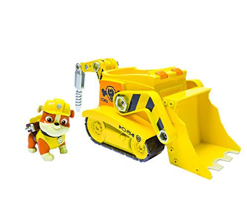 Rubble Digg'n Bulldozer Paw Patroller Construction Drill Scoop Nickelodeon Super