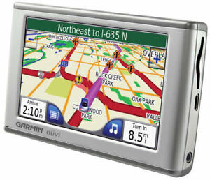 Portable Garmin Nuvi GPS with the newest 2020 maps