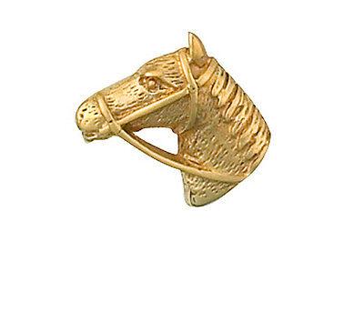 nnadel Gelbgold Hat Sich Im Schmuck-Quartal Bham (Pferd Kopf Hat)