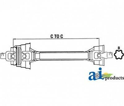 Land Pride Cv Shaft For Cutters 826-117c