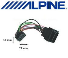 Câble adaptateur ISO pour autoradio ALPINE 16 pins noir