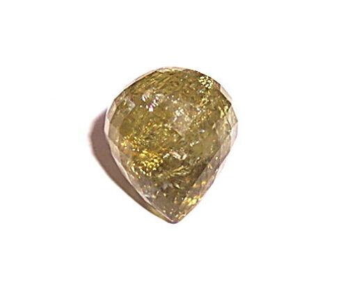 SPECIAL: 14.89ct Thai Green Grossular Garnet Briolette! #G104