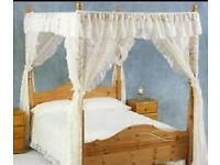 Net for 4 poster bed - (netting only, no bed)