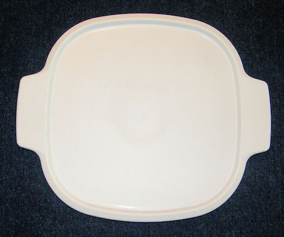 1 CORNING Corelle White Plastic Lid A-2-PC Fits 2, 3 Qt Casserole Dish BRAND -