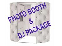 PHOTO BOOTH + DJ PACKAGE - ESSEX/KENT/HERTFORSHIRE - UK - 5* QUALITY SERVICE