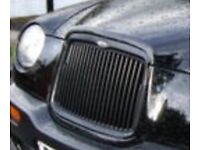 TX Taxi Front Grill
