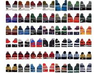 120 NBA NFL Beanie Woolly Hats Retail £20 + each